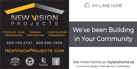 Coloured Horizontal New Vision Projects Signs