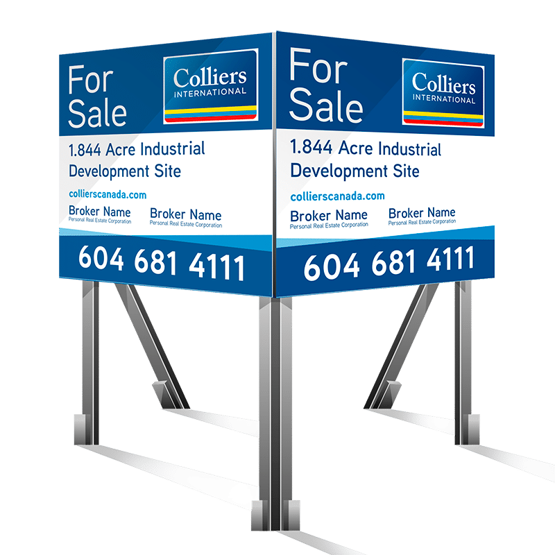 Square Coloured For Sale Colliers Signs