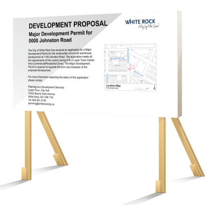 WHITE ROCK_REZONING